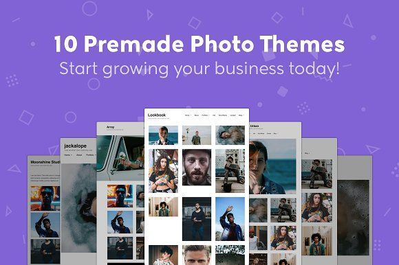 Photography Theme Bundle - WordPress by Authority Themes