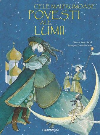 Cele mai frumoase povesti ale lumii - Arnica Esterl, Germano Ovani; Această minunată antologie de povești îi poartă pe cititorii de toate vârstele în călătorii uimitoare, tulburătoare și emoționante, pe meleaguri îndepărtate. Basme de neuitat din lume: Lebedele sălbatice, Frumoasa și Bestia, Preafrumoasa Vasilisa, Perla care strălucește noaptea și Măslinele au fost repovestite cu multă sensibilitate.  Ilustrațiile pline de fantezie ale pictorului Germano Ovani completează magia textului.