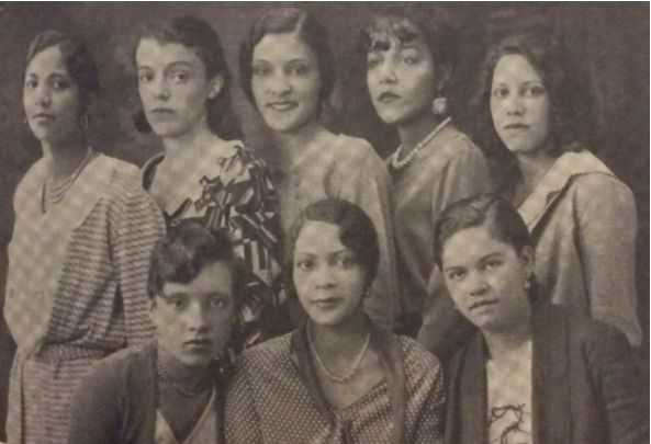 Pyramid Club of Delta Sigma Theta Sorority, Incorporated at Howard University, 1931 Photo credit