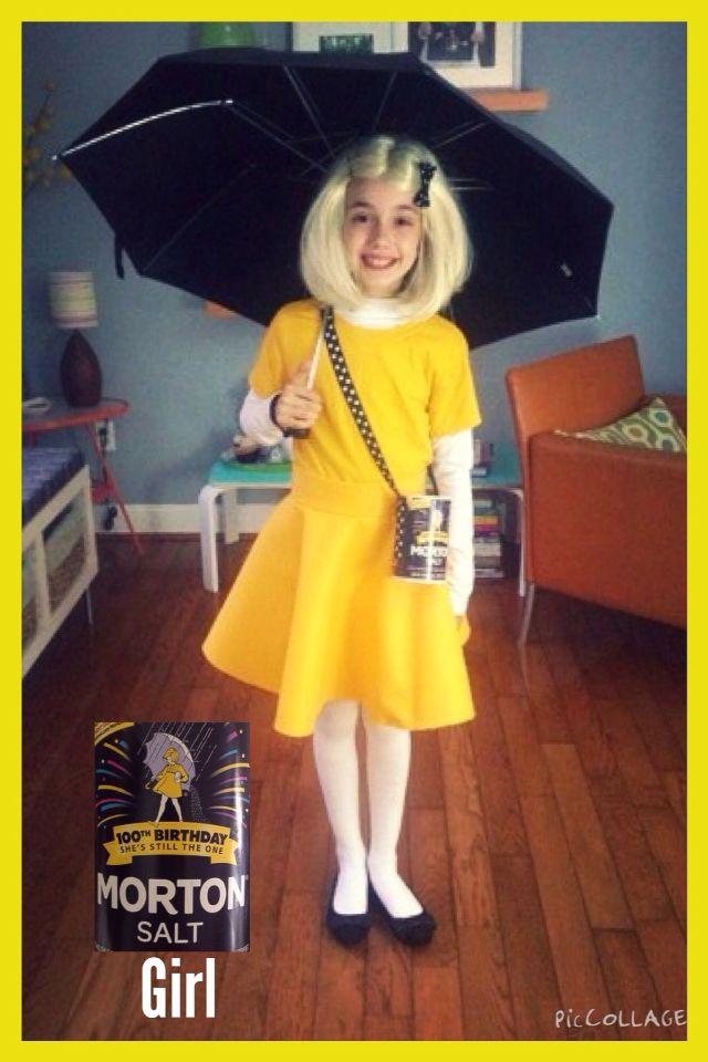 my morton salt girl costume halloween