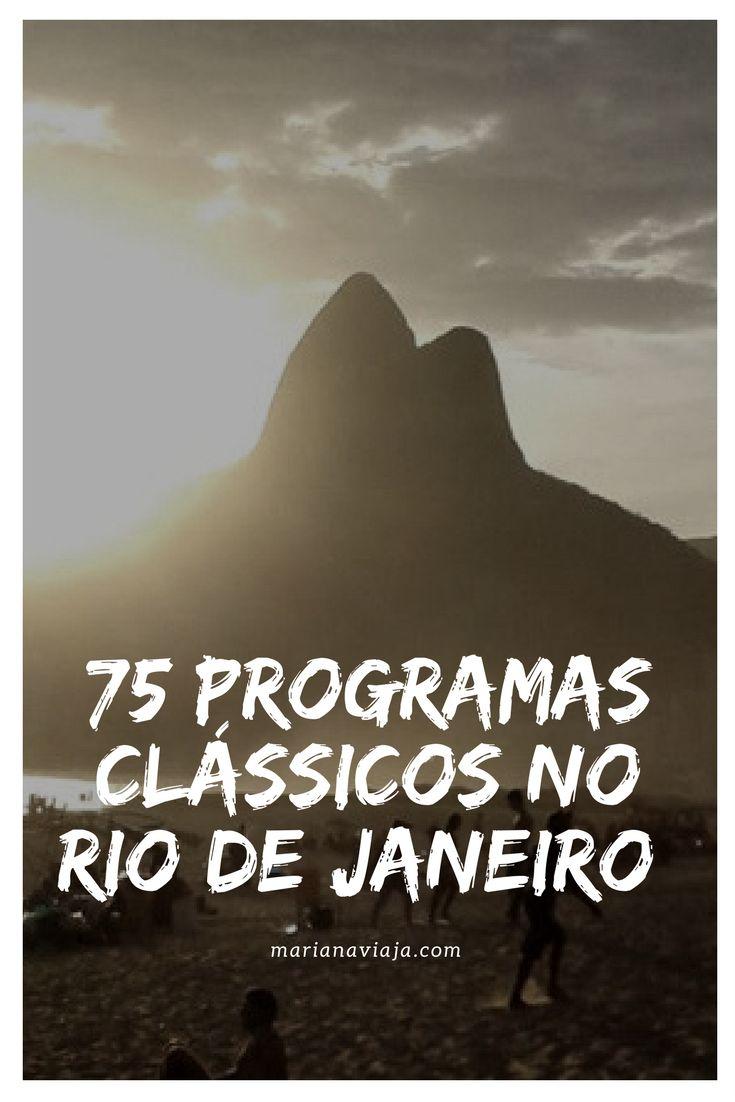 Check List com programas no Rio de Janeiro que são a cara da cidade, aqueles que todo morador ou turista já fez (ou tem de fazer) pelo menos uma vez na vida.
