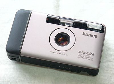 my fast camera : Konica Big mini