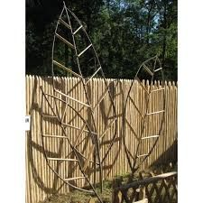 """Résultat de recherche d'images pour """"tonnelle circulaire en piquet de bois fait soi meme tuteur de plantes"""""""