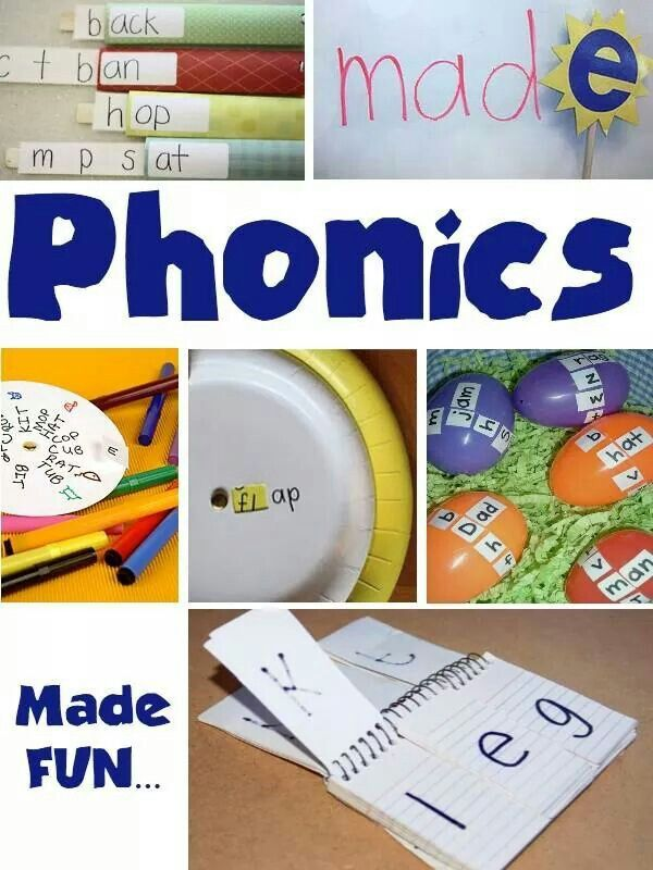 Homemade phonics kits
