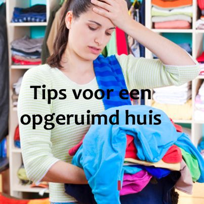Je wilt wel opruimen, maar hoe? Opruimen kun je leren! Tips voor een geordend huis en nette kledingkast: http://www.gezondheidsnet.nl/geest/artikelen/2218/opruimen-kun-je-leren