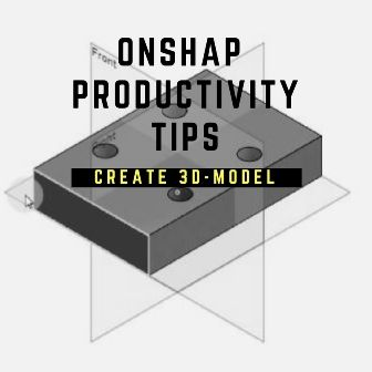 free cad software - ONSHAPE - create a simple sheet metal as a 3D model. This is a video for beginners of the software onshape
