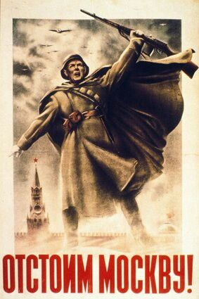 """World War II: """"We will defend Moscow!"""""""