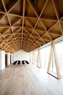 The Rothschild Foundation by Stephen Marshall Architects Killer ceiling.