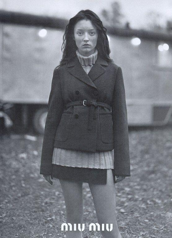 styleregistry: Miu Miu | Fall 1997.Audrey Marnay Photo Glen Luchford