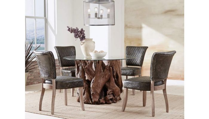 Rustic Stump Dining Table In 2020 Dining Room Furniture Sets