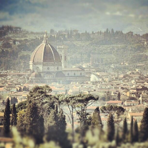 Duomo seen from Maiano #Florence #toscanartistica #italy #igersitalia - @arttrav- #webstagram