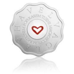 Stříbrná medaile Bořek Šípek - Macroscopium rationem popularem tuens stand | Česká mincovna