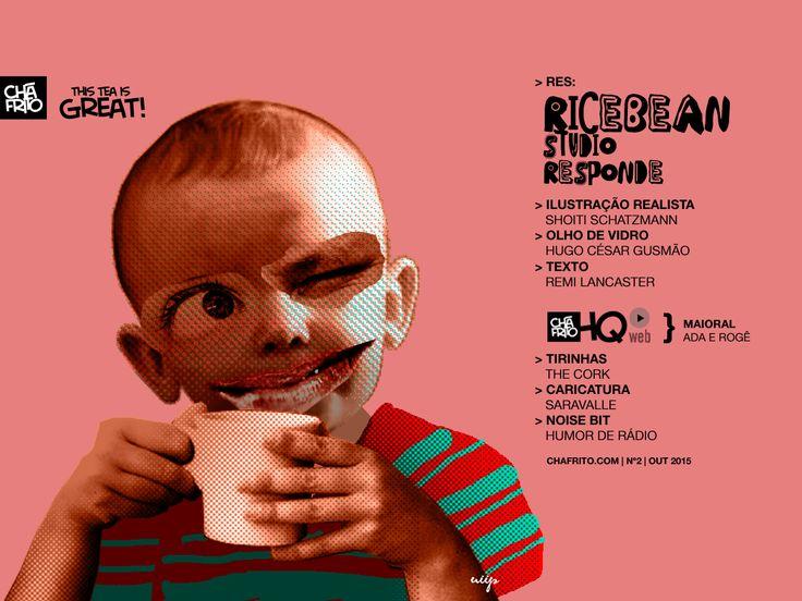 Entrevista do Ricebean Studio no CháFrito Nº 2, na sessão RES: - www.chafrito.com