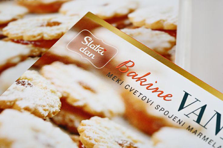 Bakine vanilice packaging design... http://www.slatkidan.com/