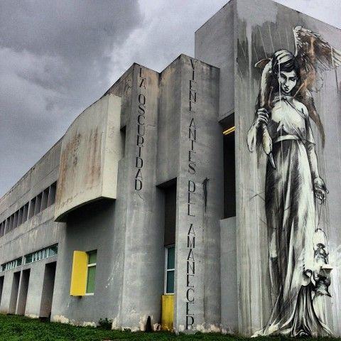 Faith47 - New Mural @ San Juan, Puerto Rico (Timelapse)