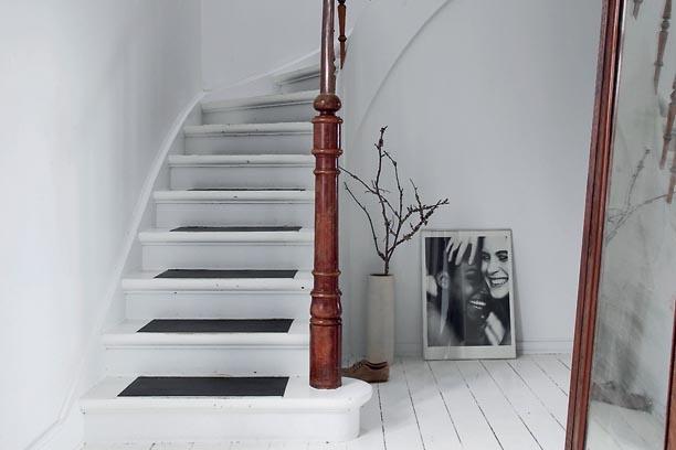 the house of designer Naja Lauf - @bolig-femina.dk
