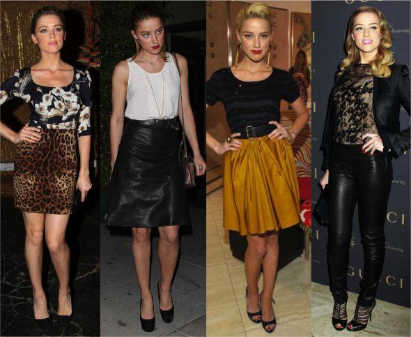 Estilo: Amber Heard - Fashionismo
