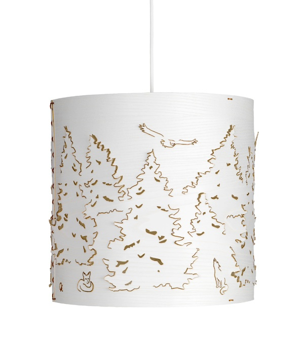 Norwegian forest lamp  Design: chatrine Kullberg