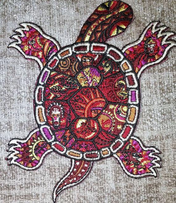Rode schildpad Patch