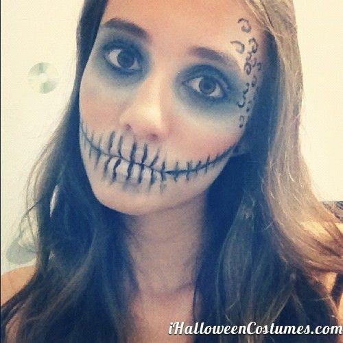 face makeup for Halloween » Halloween Costumes 2013