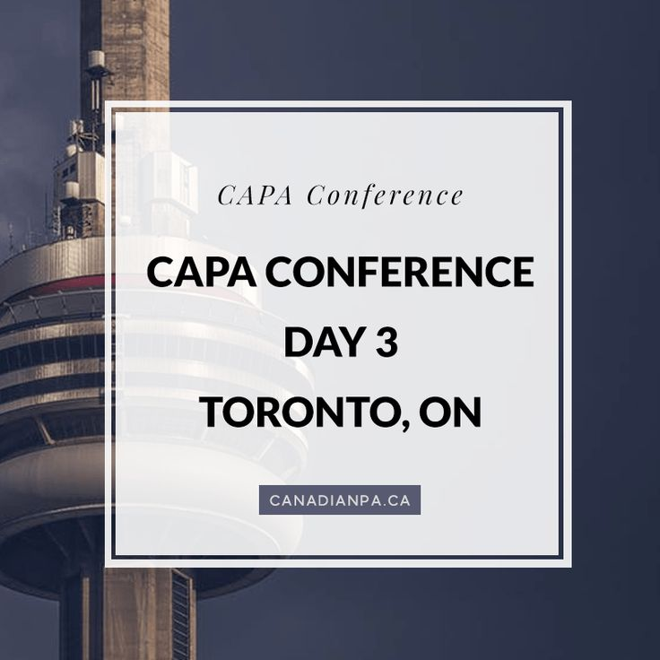 Overview of the CAPA Conference for Physician
