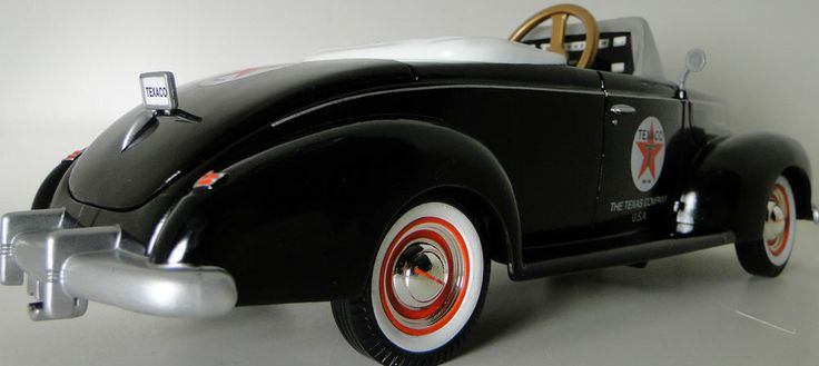Pedal Car Rare 1940s Ford Vintage Hot Rod Sport Midget Metal Show Model Art #HighEndInvestmentGradeMuseumQuality