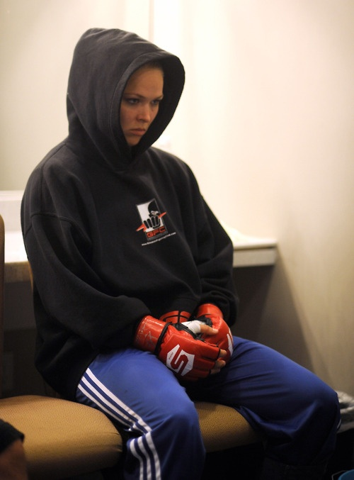 In fight mode #armbarnation Visit RondaRousey.net