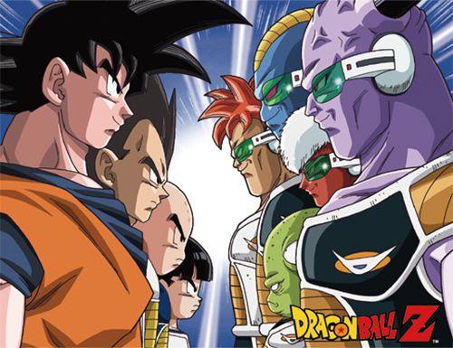 Dragon Ball Z Throw Blanket - Z Warriors Vs. Genyu Force @Archonia_US