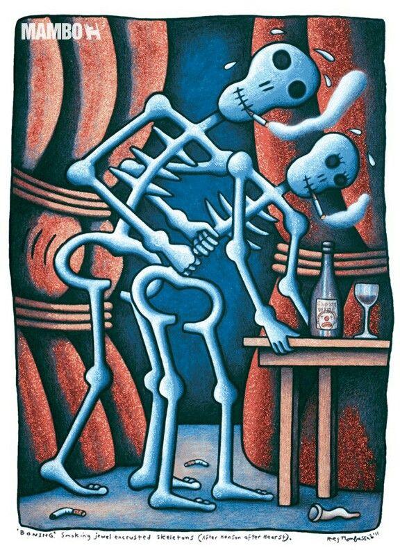 Boning (artist: Reg Mombassa)