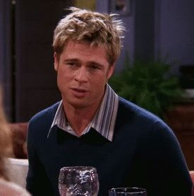New trendy GIF/ Giphy. friends will brad pitt fabulous bitch im fabulous hair toss will colbert. Let like/ repin/ follow @cutephonecases