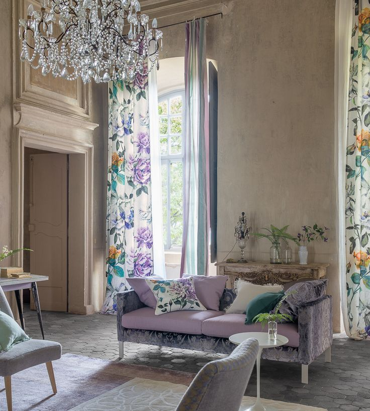 Trend | Couture Rose Fabric by Designers Guild l TM Interiors Limited