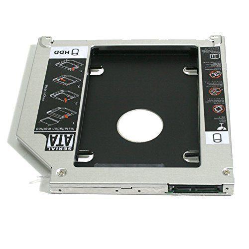 GoldenTrading 2.5 SATA Hard Drive Caddy Bay Optical HDD SSD Optibay for Macbook / Macbook Pro