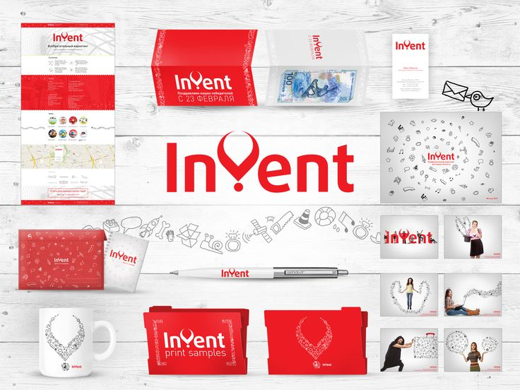 Invent Agency corporate Identity. #design #agency #corporate #Identity