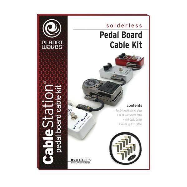 Planet Waves Pedal Board Cable Kit | Andertons