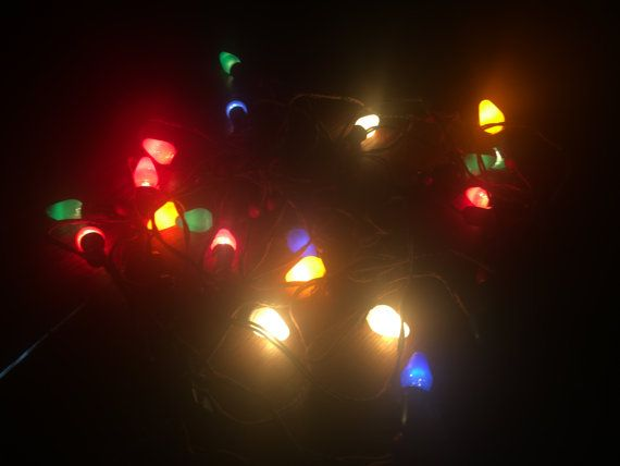 3 Sets Of Vintage NOMA Christmas Lights With by UpNorthAntiques
