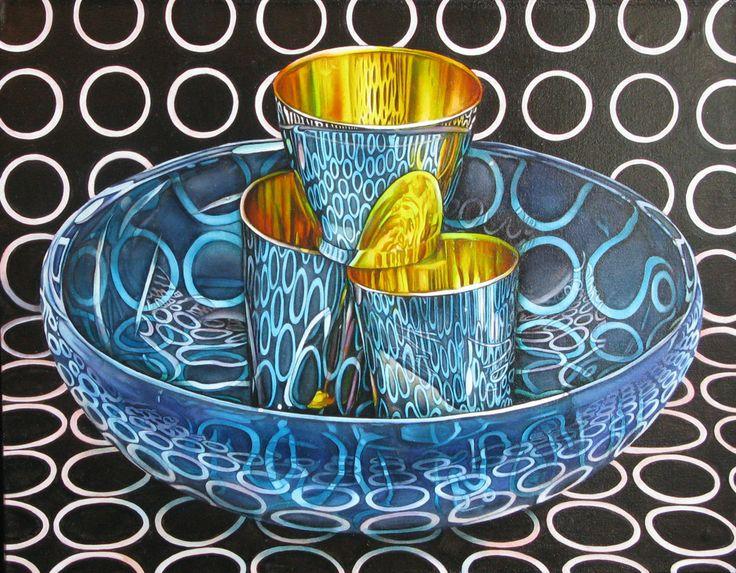 Jeanette Pasin Sloan / Turquoise Trail / 28x33 Oil on Linen