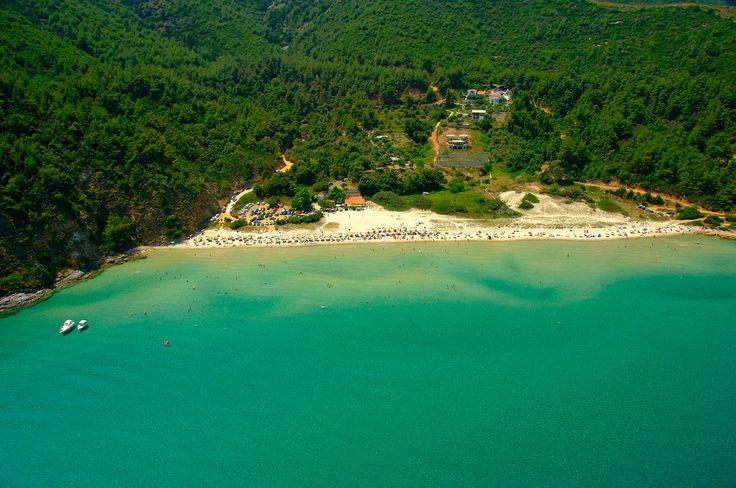 As praias de nudismo mais populares do mundo. Paradise Beach, Grécia