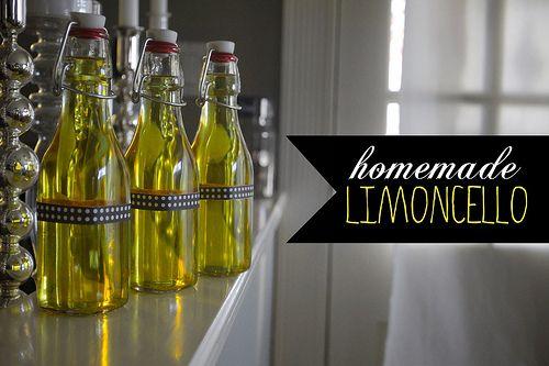homemade lemoncello  christmas gift #1