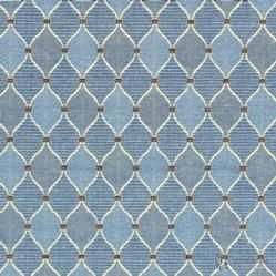 Prestigious Textiles Heritage Collection Inverness Marine Blue Upholstery Heavy Weight Curtain Fabric