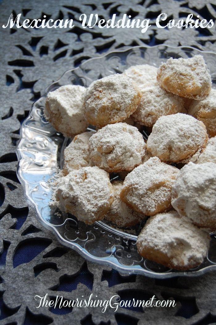 Grain-free Russian Tea Cakes (use coconut sugar in place of powdered sugar)