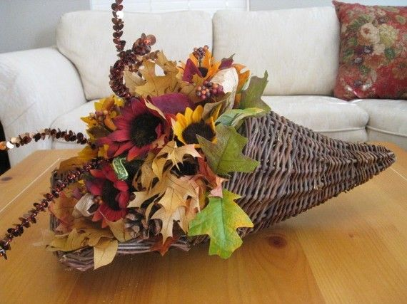 Images about cornucopia centerpieces on pinterest