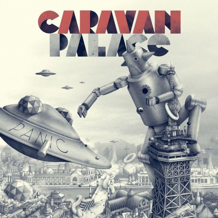 Dramophone by Caravan Palace - Panic