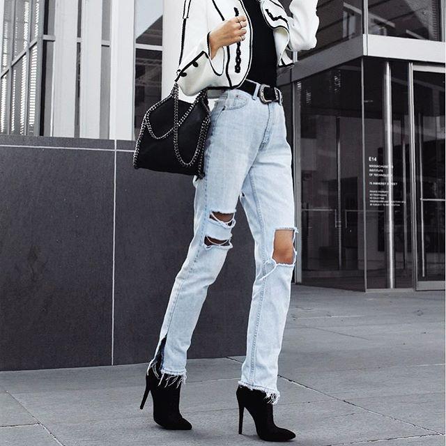 The 'Bella' jeans on @florencia95 ⭐️👖 #FAITHFULBABE