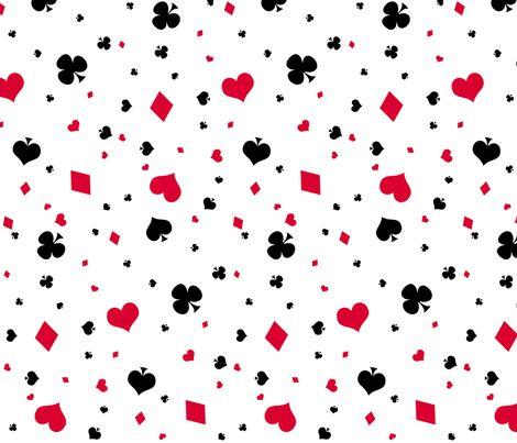 You're a Card fabric by gabi-hime on Spoonflower - custom fabric