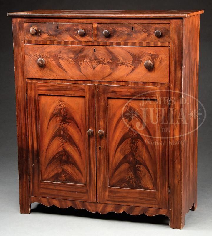 VIBRANTLY DECORATED JELLY CUPBOARD. - Price Estimate: $3000 - $6000