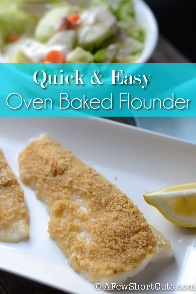 Healthy baked flounder recipes easy