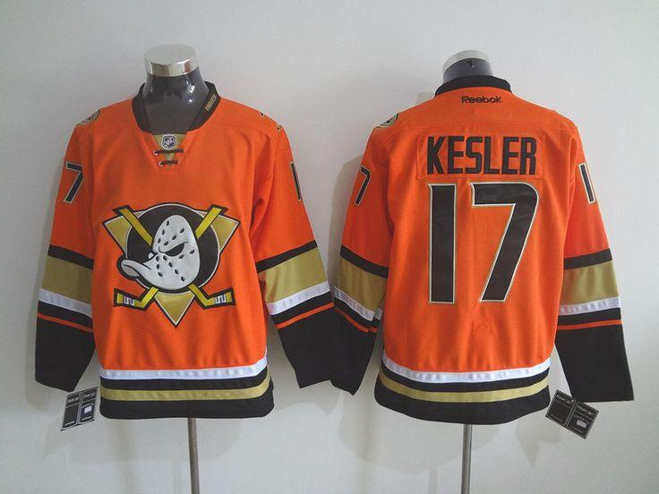 Men's NHL Anaheim Ducks #17 Kesler Orange Jersey[New]