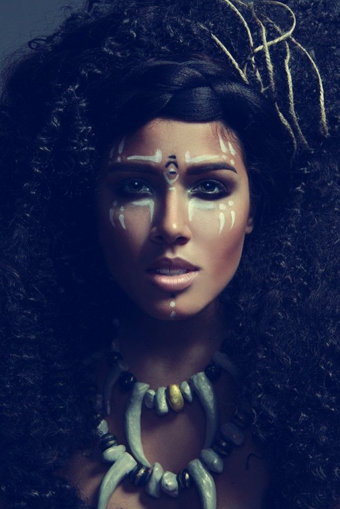 The Tribal Way: Tribal Make-up Inspiration #3
