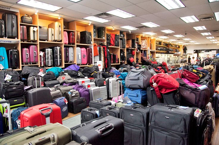 Top ten: Luggage stores