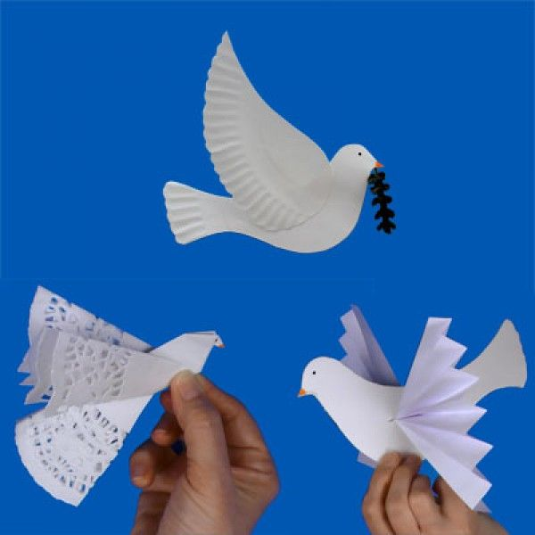 Bricolages Journée de la Paix et Affiche